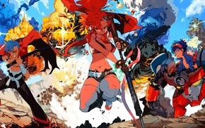 Littner Yoko, anime, Tengen Toppa Gurren Lagann, Kamina