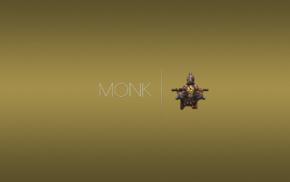 Diablo III, video game characters, classes, Monk, crest