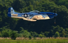 North American P, 51 Mustang, military aircraft, aircraft