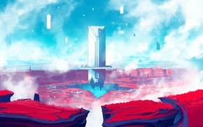 Digital 2D, video games, digital art, Duelyst, concept art, artwork