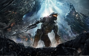 concept art, Halo 4, video games, Halo