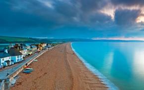 England, sea, nature, boat, sand, beach