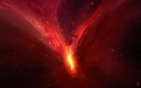 stars, space art, JoeyJazz, nebula