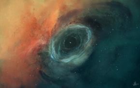 JoeyJazz, nebula, space art
