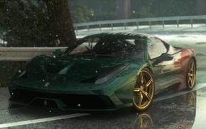 2015 Ferrari 458 Speciale A, Ferrari 458 Italia, car, Driveclub, racing