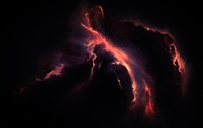 nebula, Starkiteckt, space art