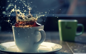 tea, beverages