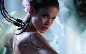 artwork, digital art, robot