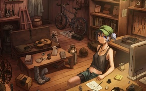 Kawashiro Nitori, anime girls, anime, Touhou