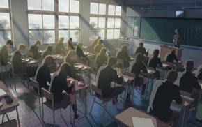classroom, anime