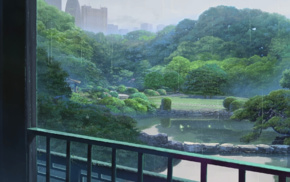 The Garden of Words, anime, Makoto Shinkai