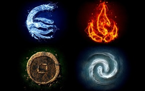 fire, water, air, Earth, four elements