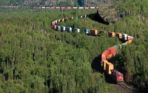 train, freight train, diesel locomotives