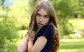 sensual gaze, pornstar, blonde, girl, Krystal Boyd