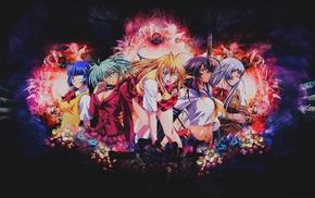Ikkitousen, anime girls