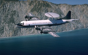 US Customs, EP, 3, airplane