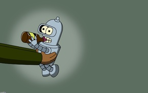 animation, Bender, animated movies, Futurama