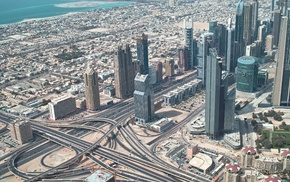 urban, building, road, cityscape, Dubai, city