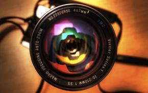 camera, lens, depth of field, macro