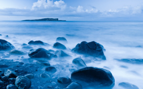 water, UK, beach, Skye, island, landscape