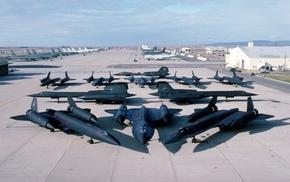 military, military aircraft, aircraft, Lockheed SR, 71 Blackbird