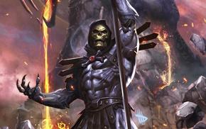 He, Man, Skeletor, fantasy art