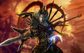 Dynasty Warriors 8, video games, heroes, Lu Bu