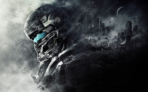 Spartan Locke, 343 Industries, Master Chief, Halo, Halo 5, video games