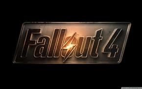 Fallout 4, video games, Fallout, logo