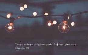 Hasan Ibn Ali, lights, Imam, quote, Islam, wire