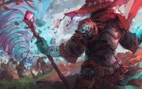 artwork, wizard, fantasy art, digital art