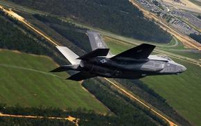 military aircraft, F, 35 Lightning II, aircraft, Lockheed Martin F