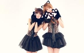 Boram, cat ears, Asian, K, pop