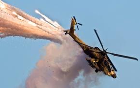 military aircraft, Boeing Apache AH, 64D, AH, 64 Apache, aircraft