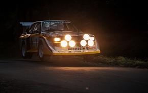 Audi, Audi Sport Quattro S1, car, rally cars