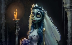 movies, Corpse Bride, Gothic, spooky