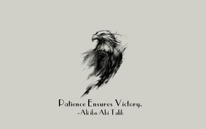 quote, Islam, eagle, Imam, Ali ibn Abi Talib, motivational