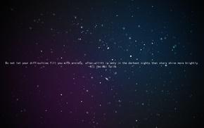 quote, Ali ibn Abi Talib, Islam, stars, space, Imam