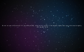 space, Islam, Ali ibn Abi Talib, Imam, stars, quote