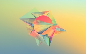 Justin Maller, digital art, geometry