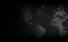 map, DDoS, hacking, Mr Robot