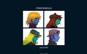 Gorillaz, album covers, crossover, anime, Daft Punk, Interstella 5555