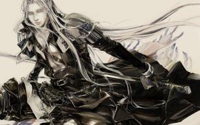 anime, Final Fantasy VII, Sephiroth
