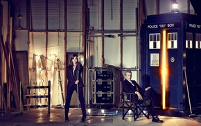 The Doctor, Doctor Who, TARDIS, Jenna Coleman, Peter Capaldi