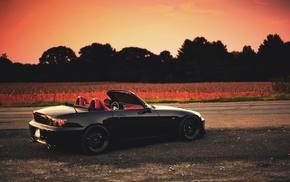 Honda, road, honda s2000, car
