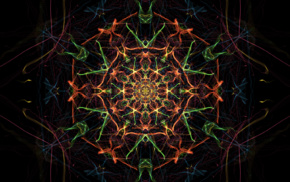 fractal, artwork, abstract