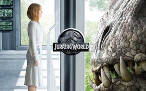 Jurassic World, dinosaurs, movies, Bryce Dallas Howard