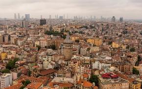 building, Galata Kulesi, cityscape, city, galata, Istanbul