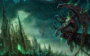 World of Warcraft, Black Temple, fantasy art