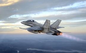 military aircraft, aircraft, McDonnell Douglas CF, 18 Hornet